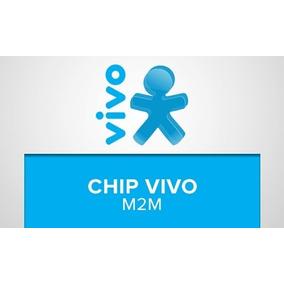 Chip M2m Vivo Solução Perfeita Rastreador