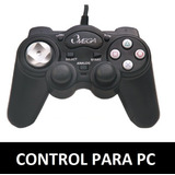 Palanca Control Gamepad Joystick Usb Para Pc Con Vibrador