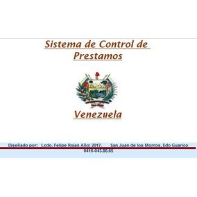 Sistema De Control De Prestamos Diseñado