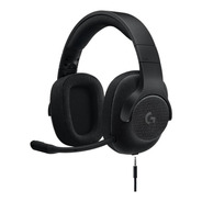 Audífonos Gamer Logitech G Series G433 Black Alámbrica