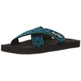 Reef Sandalias De Hombre Sandalias Flip-flop Negro / Azul...