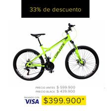 Bicicleta Corleone Aluminio Rin 26 Suspen 21v Exclusivo Visa