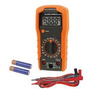Multimetro Digital Con Selección Manual Klein Tools Mm300