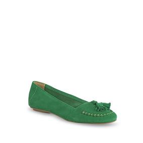 Flat Loafer Mujer Verde 2550947