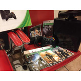 Xbox 360 Modelo E Kineck Lee Discos Económicos C 5 Juegos