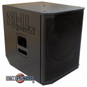 Caixa Ativa Sub Woofer Bc18.1000a Falante B&c Speaker Italia