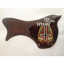 Escudo Rrp Para Violão Folk Jesus Rei Dos Reis