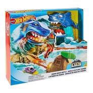 Hot Wheels Batalla En Playa Tiburon Mattel Original