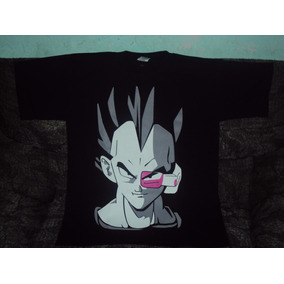 Playeras Dragon Ball Z Gt De Vegeta Rastreador Talla 6-8 Niñ