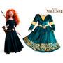 Disfraz Merida Valiente - Brave - Original Disney Store!