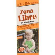 Crema Bio Repelente De Mosquitos Zona Libre P/ Bebés 40 Ml