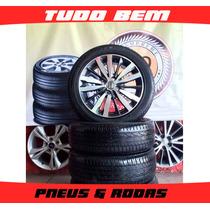 Rodas New Fit 2016 (original Honda) + Pneus 185/55/16