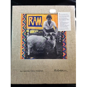 Box Paul Mccartney-ram Dlx Book Ed 4cd+dvd Lacrado