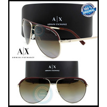 Gafas Armani Exchange Ax2002 Gold Brown - Gradient Polarized