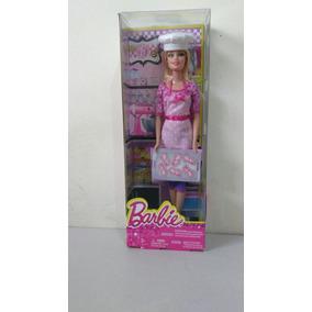 Barbie Chef De Galletas Serie Quiero Ser