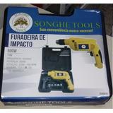 Furadeira De Impacto 500 Watts Songh Tools 110 V Com Maleta