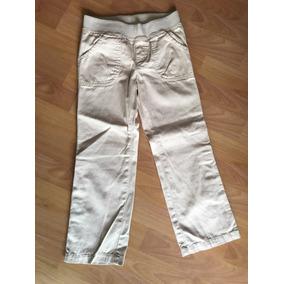 Pantalones Beige De Niña Place Talla 6