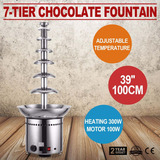 Cascata De Chocolate Fonte 7 Torres P/ 10kg 1 Metro Altura