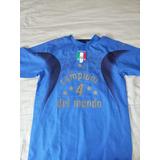 Jersey Puma Italia Campeon 2006 Firmado De Coleccion