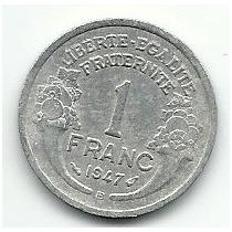 Moeda 1 Franc 1947 Repvblique Française Lote 270