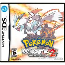 Pokemon White Version 2 Mídia Física 100% Original Novo Nds