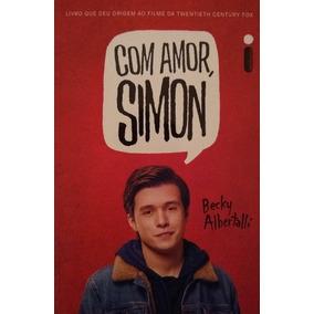 Livro Com Amor, Simon - Novo