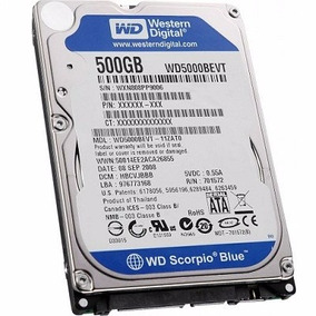 Disco Duro 500gb Sata Laptop 2.5 5400rpm Sellado De Fabrica!