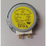 Motor Do Prato Microondas Lg Ac 21v Gm-16-2f302 2.5/3r.p.m