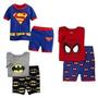 Fantasia Pijama Super Herois Homem Aranha , Superman, Batman