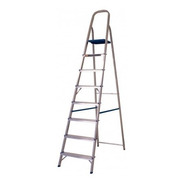 Escada Extensiva 8 Degraus Aluminio
