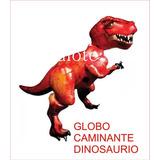 Globo Metalizado Xl Tiranosaurio Rex Triceratops Dinosaurio