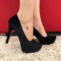 Sapato Meia Pata Numeração Especial