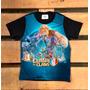 Camiseta Infantil Clash Of Clans Jogo Celular Criança Game