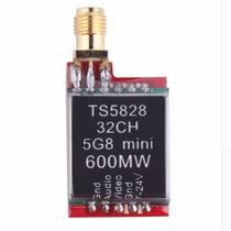 Transmisor Video Fpv Drone 5.8g 32 Canales 600mw Con Antena