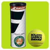 Combo Tubo Roland Garros X3 + Grip + Cubre+ Antiv + Llavero