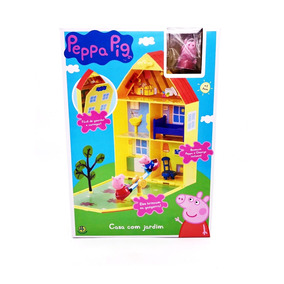 Peppa Pig Casa Com Jardim Dtc