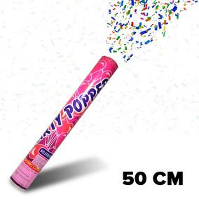 Cañón Tubo Lanza Confeti 50 Cm Party Popper Bazuca Fiesta