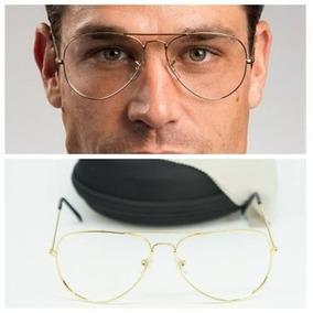Armação Para Óculos Aviador Retro Vintage Aviator - Óculos em Minas ... 9aa470d016