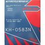 Kit Reparacion Carburador Xr 600 Honda Motos Xr600 Keyster