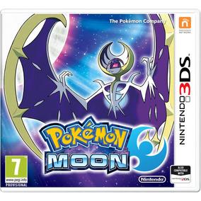 Jogo Pokemon Moon Nintendo 3ds New 3ds Xl Lacrado