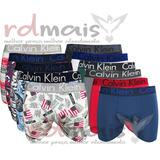 Promoção Kit 18 Cuecas Adulto Calvin Com Forro R$6,55 Cada