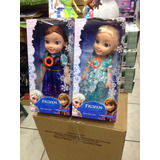 Bonecas Do Filme Frozen -40 Cm Emborrachadas E Musical