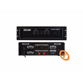 Amplificador De Potencia Mark Audio Mk-3600 Pro Mk 3600 Pro