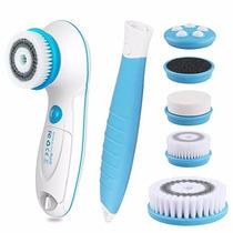 Masaje Facial Cepillo Limpieza Poros 5 En 1