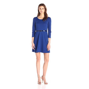 Star Vixen Vestido Con Cinturón Azul (talla L) Us