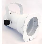 Spot Par 20 Branco Canhão Refletor C/ Porta Gelatina Volt