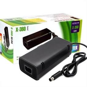 Fonte Xbox 360 Elite Super Slim Bivolt 115w Cabo De Força ·