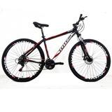 Bicicleta 29 Totem Manic 21 V Index F. A Disco Preto T21