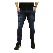 Calça Jeans Masculina Skinny Azul *120