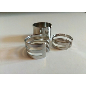 Conjunto De Anéis Lindos Ajustável, 3 Pçs/ Moda De Dedo